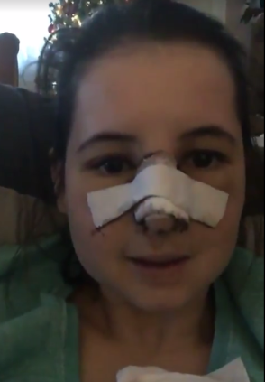 4 dagen na de operatie